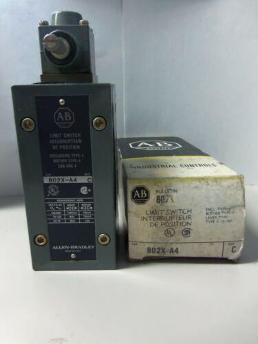 New Allen Bradley 802X-A4 Side Rotary Limit Switch Series C NIB