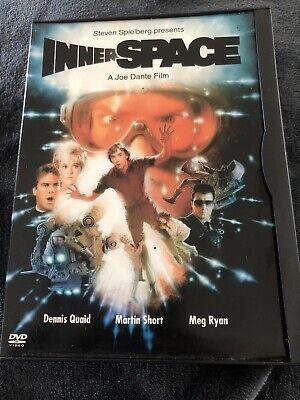 INNERSPACE • Rare Reg 1 - US IMPORT •DVD -Card Clip Case *Steven Spielberg Dante