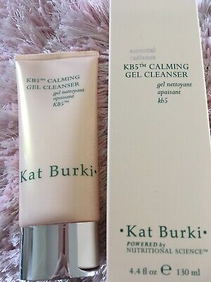 Genuine, Fresh & New~ Kat Burki 💖Calming Gel Cleanser~Full Size 130ml ~RRP £47