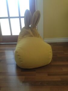 Cute bunny bean bag chair