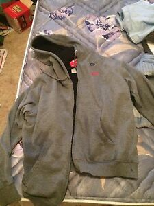 Grey heated Milwaukee hoodie