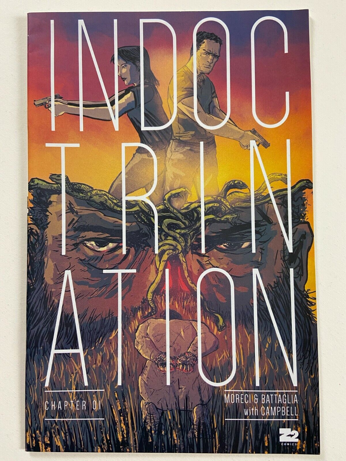 INDOCTRINATION 1 NM (2016, Z2 COMICS)