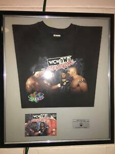N64 WCW NWO TShirt , Plaque, Game Case Framed Promotional North Lakes Pine Rivers Area Preview