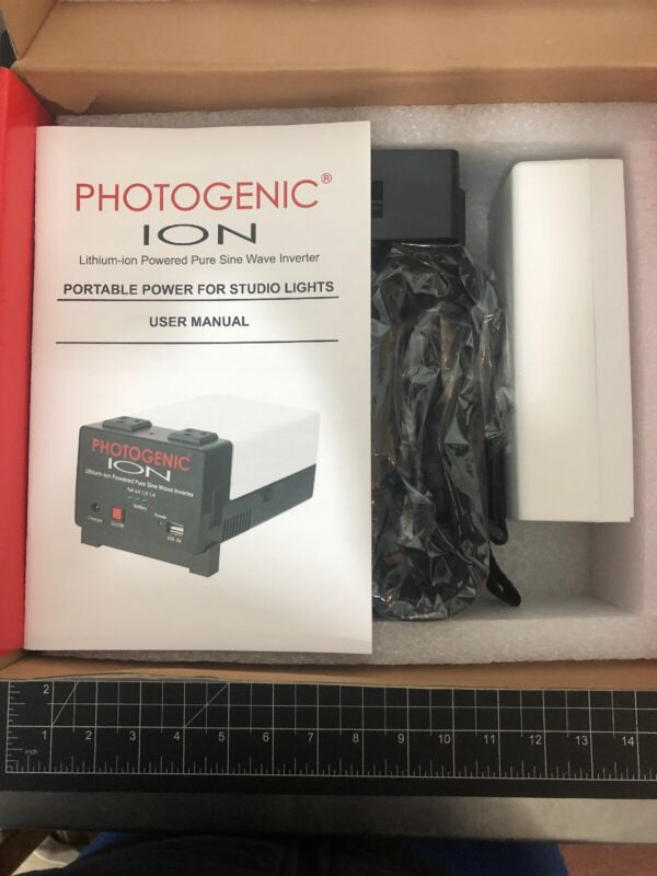 Photogenic Ion Lithium-ion Pure Sine Wave Inverter System