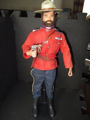 action man vintage canadian mountie