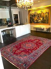 ANTIQUE KASHMAR HANDKNOTTED PERSIAN RUG- CIRCA 1930 -  283 x 198 Surry Hills Inner Sydney Preview
