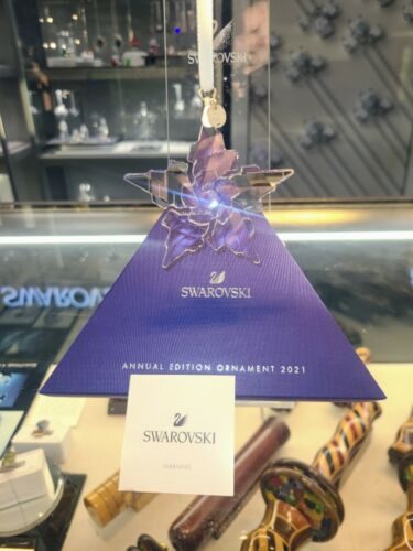 Excellent Condition Swarovski 2021 AE ornament Item #5557796
