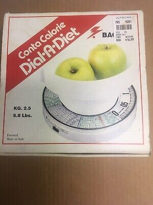 Medusa Dial A Diet Kitchen Scale Made In Italy Vintage 70's Food Weight