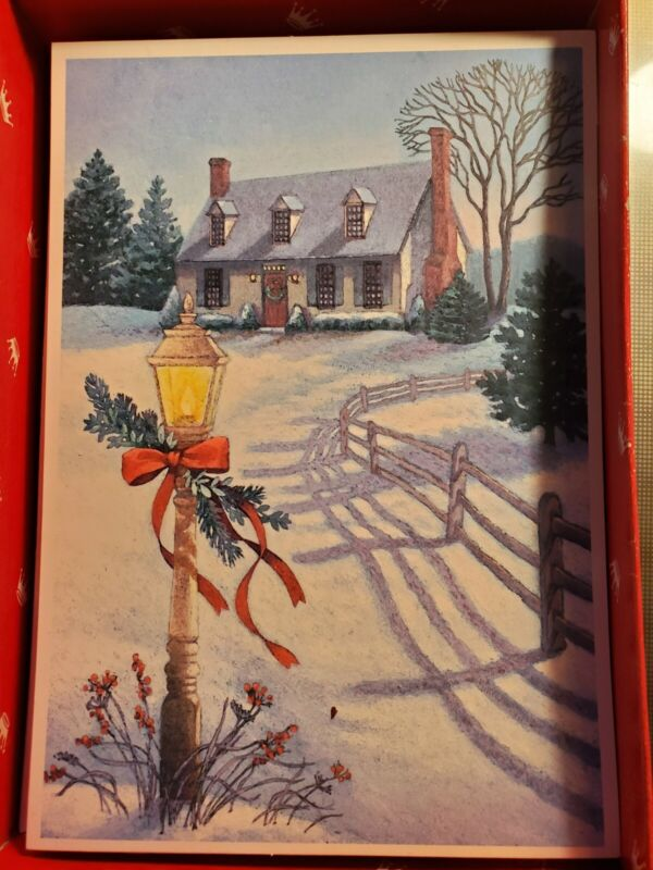 Hallmark Christmas Cards Box Of 15