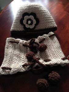 Handmade unic hat and scarf