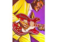 /'93 ES Collection catalog// BB King poster Gibson