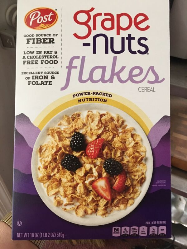 Post Grape Nuts Cereal 18 Ounce Box Production Stopped