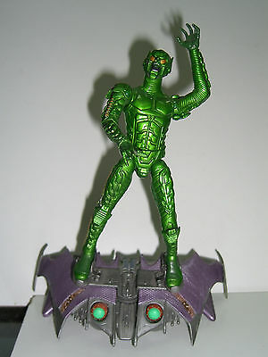 MARVEL LEGENDS SANDMAN SERIES MOVIE GREEN GOBLIN COMPLETE TOY BIZ