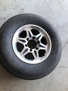 Trailer tire, size st 225/75R15