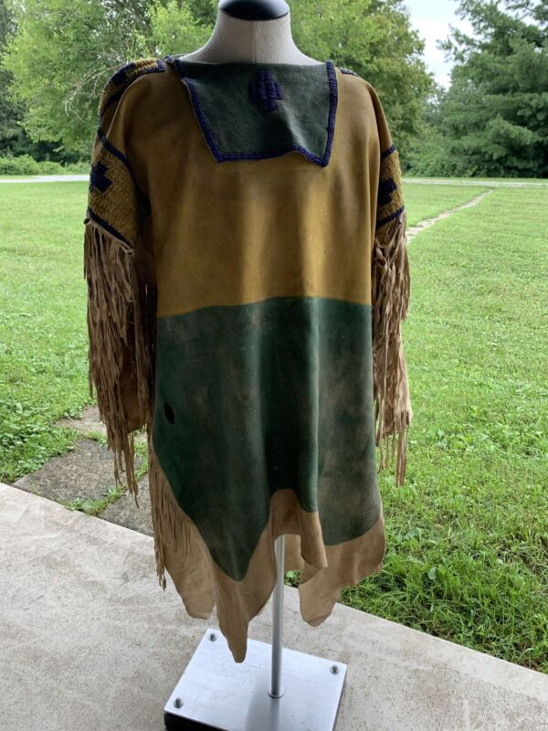 SIOUX BEADED AND FRINGED DRESS or WAR SHIRT