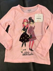 NEW - girl's Gymboree shirt - XS - size 4 - Retail $29.95