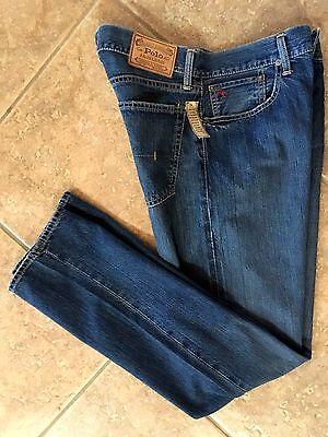 Polo Ralph Lauren Mens Jeans 40 x 30 Bootcut Boot Cut Cedar NWT ...