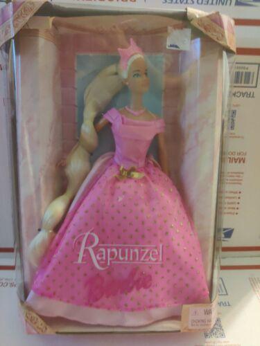 Rapunzel Barbie Doll Mattel #26757 1999 Pink Tiara