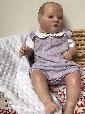 Stunning Reborn Patience Awake Bountiful Babies Doll & Clothes FREE POSTAGE