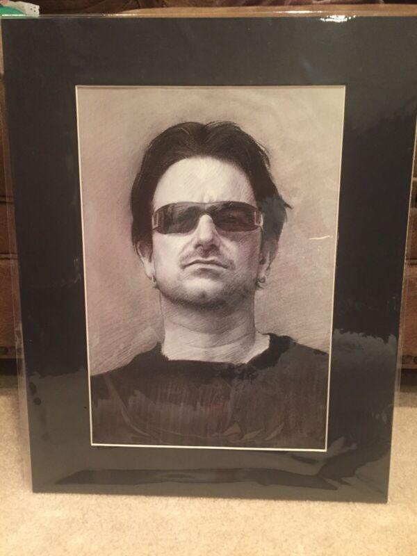 Bono  U2 - Portrait