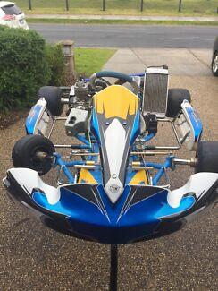 FA Victory OTK Go Kart TAG IAME X30 125. Includes Spares. Berwick Casey Area Preview