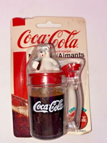 1998 Coca-Cola Soda Cup Magnet