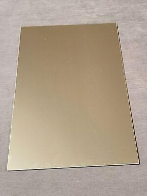 .060 Aluminum Sheet Metal Plate. 24 X 36. 116 Aluminum Flat Stock. 1 Pc