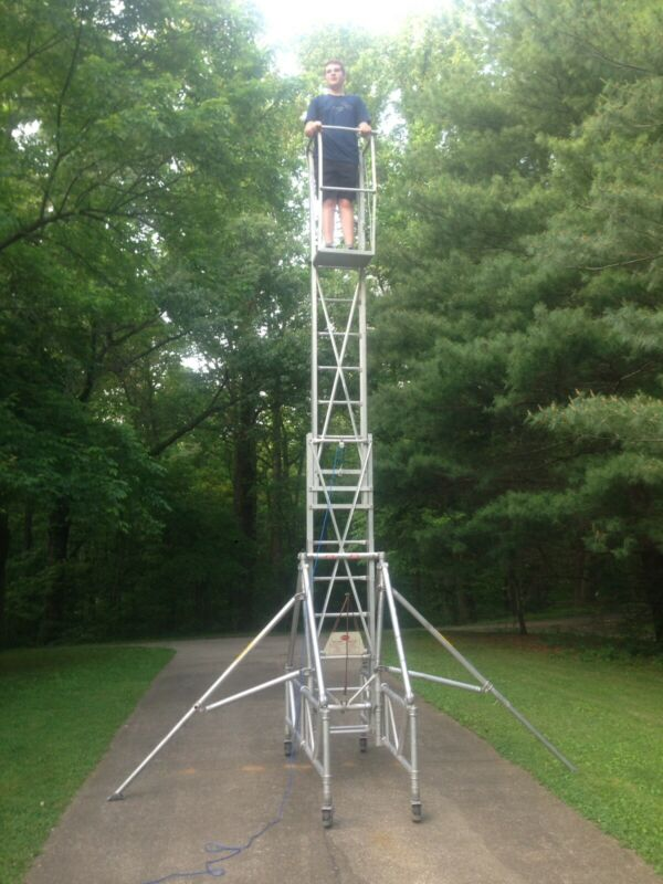 Scaffolding Up-Right Scaffolds 512-B Tall E Scope Inspection Ladder 50512 Stairs