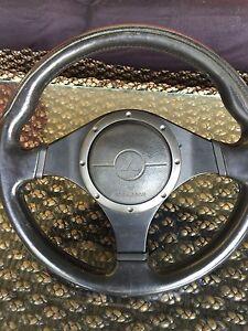 Evo 9 momo steering wheel Guildford Parramatta Area Preview