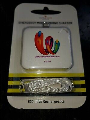 Emergency phone charger keyring  iPhone ios