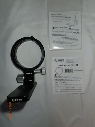 Really Right Stuff Lens Collar and Foot Kit Nikon 200-500 F5.6 ED VR >>Excellent