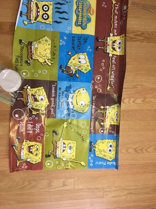 Vintage Rare Spongebob Squarepants Poster