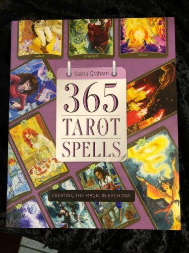 365 TAROT SPELLS by Sasha Graham   Wicca Pagan Metaphysical