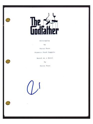 Al Pacino Signed Autographed THE GODFATHER Movie Script Screenplay COA