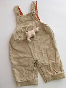 Gymboree baby boy 0-3 months fall overalls