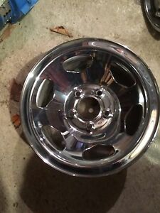 "15"" SS chevy truck chrome rims"