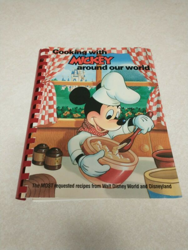 Cooking With Mickey Around Our World- Disney