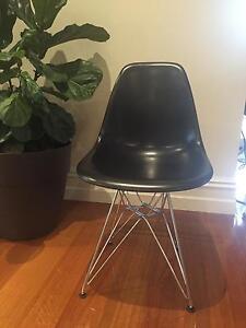 Replica Eames dining chairs in black x12 Preston Darebin Area Preview