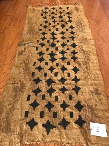 African hand made mud cloth scarf shawl (G4)