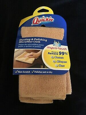 QUICKIE Dusting & Polishing Microfiber Cleaning Cloth 13