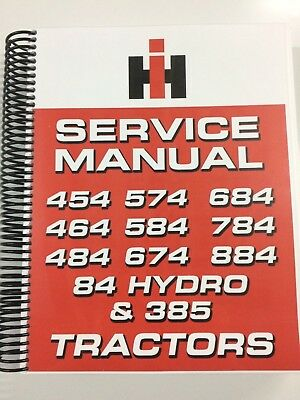 International Harvester 584 Tractor Service Manual Repair Manual 561 Pages