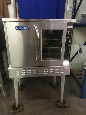 Royal Range RCOS-1 Gas Convection Oven - Standard Depth Gas Stove Convection Oven