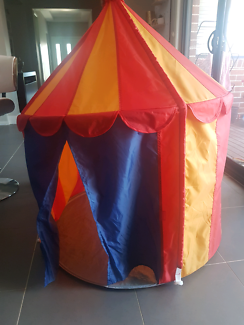 Ikea circus tent and bursa tunnel & Ikea Mysig Childrenu0027s Over Bed Canopy Wall Tent - Circus | Other ...