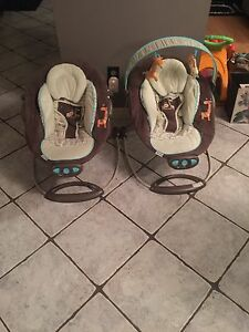 Bouncy Chairs great for twins