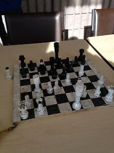 Home made chess set
