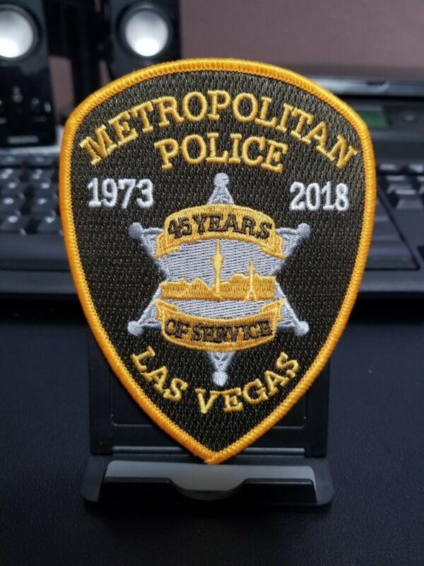 Las Vegas Nevada NV Anniversary Police Patch