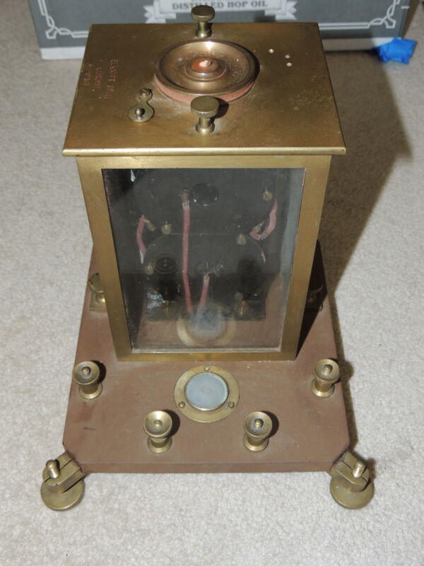 Rare Astatic Suspension Reflecting Galvanometer Elliott Brothers London c1890