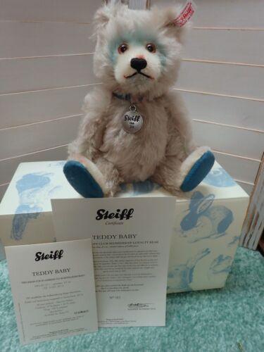 STEIFF EAN 421211  #585/3000 TEDDY BABY CLUB BEAR - 20 year MIB
