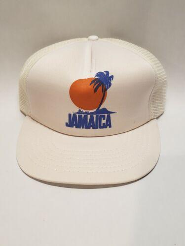 Vintage Jamaica Snap Back Trucker Hat