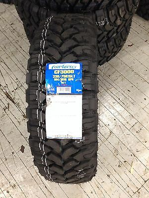 4 NEW 235 75 15 Comforser MT TIRES 75R15 R15 75R 6 Ply Mud Off Road